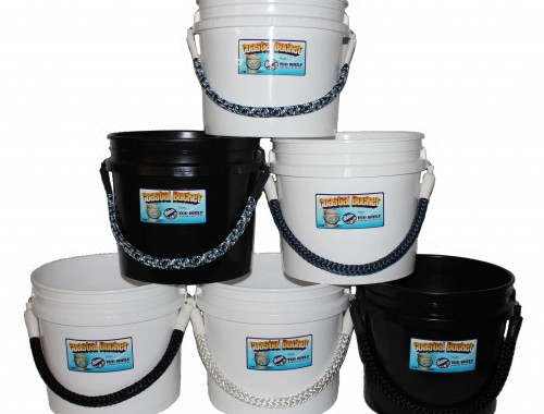 3.5 gallon rope handle coastal buckets