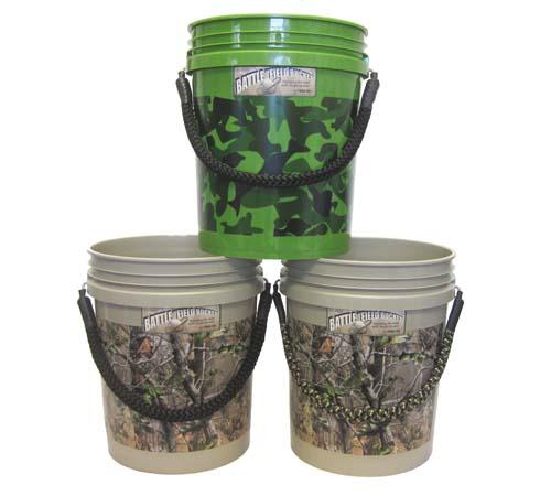 rope handle buckets