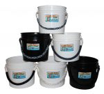 3.5 gallon rope handle coastal buckets